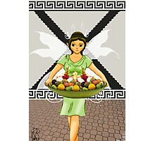 Alphabet Fairy- Xena Photographic Print