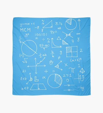 Math formulae (blue) Scarf
