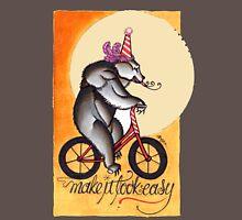 bear on a bicycle, natural talent shirt Long Sleeve T-Shirt