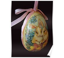 Paper Mache Easter Egg Poster