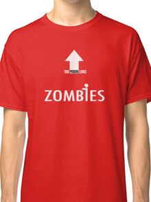 This Person Loves Zombies Classic T-Shirt