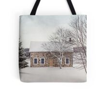 little stone house Tote Bag