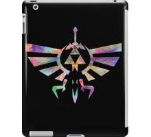 The Legend of Zelda - Hyrule Crest + Master Sword // Water Color Edition iPad Case/Skin