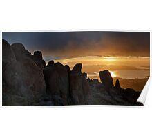 Sunrise from Mount Wellington #11 Poster