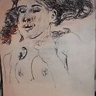 Female Nude II -(290313)- A5 sketchpad/Black Ink Pen by paulramnora