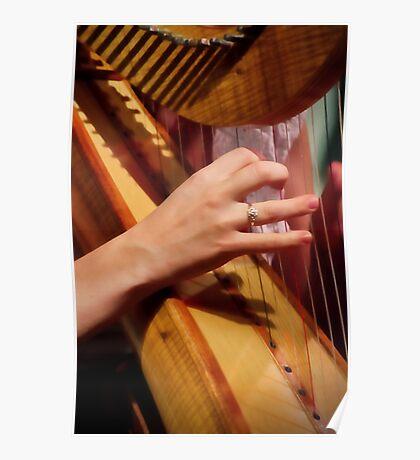 """""""Celtic Strings"""" Poster"""