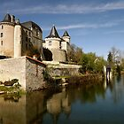 Chateau at Verteuil sur Charente by graceloves
