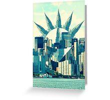 Empire Greeting Card