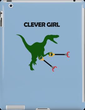 Clever Girl (Unstoppable Velociraptor) by jezkemp
