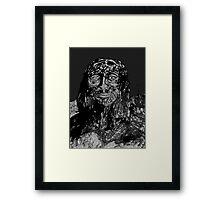 for Him, alone.  Framed Print