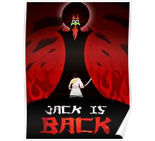 Samurai Jack Poster by Majinmind - #JackIsBack Poster