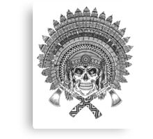 Chief Skull Canvas Print