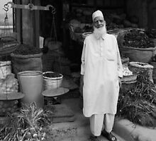 The Shop keeper - Kashmir, India by jaqueline