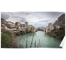 The Old Bridge in Mostar Poster