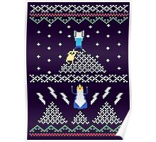 Jack and Finn Adventure Time Sweater Poster
