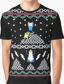 Jack and Finn Adventure Time Sweater Graphic T-Shirt