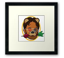 Dwight Schrute (The Office) Framed Print