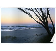 Daybreak at South Kingscliff ... Poster