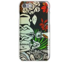 Left in the Jungle iPhone Case/Skin