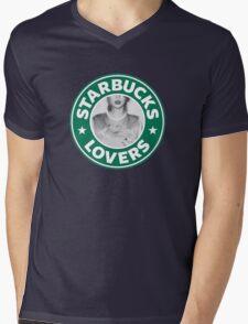 Starbucks Lovers Mens V-Neck T-Shirt