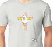 Easter Egg on Cross Unisex T-Shirt