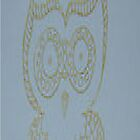 Gold Owl i by KazM