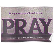Let Him Pray. Poster