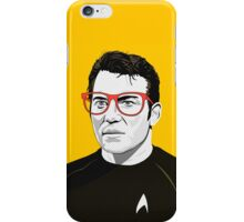 Star Trek James T. Kirk (William Shatner) Pop Art  illustration iPhone Case/Skin