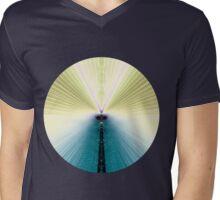 Golden Rays Mens V-Neck T-Shirt