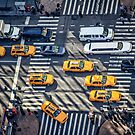Traffic on Sixth Avenue by Mikell Herrick