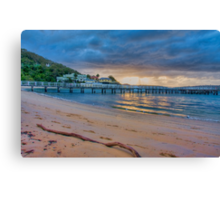 Chowder Bay Sunrise Canvas Print