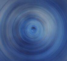 Fast Blue Circle by jojobob