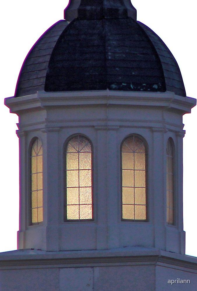 Steeple Window - Faith Church, Sherman, Texas, USA by aprilann