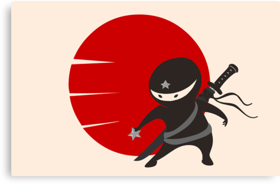 LITTLE NINJA STAR by AnishaCreations