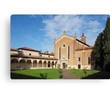 San Bernardino church in Verona Canvas Print