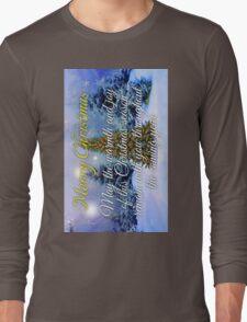 CHRISTMAS TREE Christmas Cards Long Sleeve T-Shirt