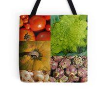 Five Vegetables Tote Bag