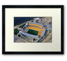Heinz Field Aerial Framed Print