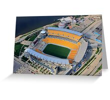 Heinz Field Aerial Greeting Card
