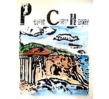 Pacific Coast Highway Print Photographic Print