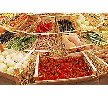 Fruit and Veg Display Photographic Print