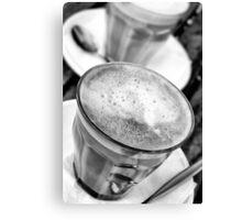Cafe latte Canvas Print