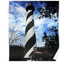 St Augustine Lighthouse Poster