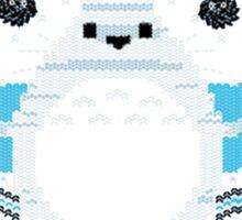 Ugly Christmas sweatshirt- Totoro  Neighbor Christmas Sweatshirt Sticker