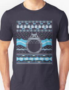 Ugly Christmas sweatshirt- Totoro  Neighbor Christmas Sweatshirt T-Shirt