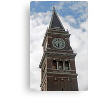 """Clock Tower"" by Carter L. Shepard Canvas Print"