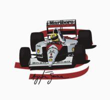 Ayrton Senna McLaren Formula One by oawan