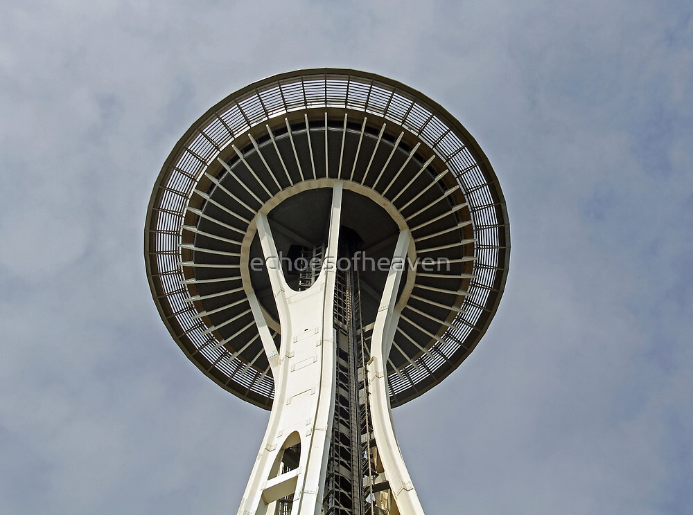 """""""Space Needle""""  by Carter L. Shepard by echoesofheaven"""