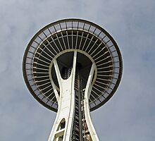 """Space Needle""  by Carter L. Shepard by echoesofheaven"