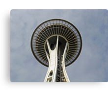 """""""Space Needle""""  by Carter L. Shepard Canvas Print"""
